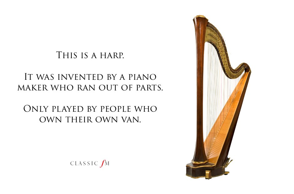 harp Musical instruments explained: a beginner's g