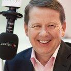Bill Turnbull in Classic FM studio