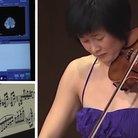 bach violinist brain