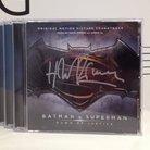 Batman v Superman soundtrack signed by Hans Zimmer