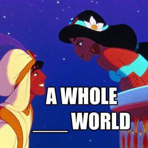 Aladdin A Whole New World Quiz