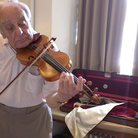 Charles Barren violin at Dartington