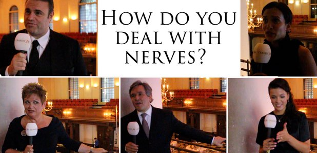 How musicians deal with nerves