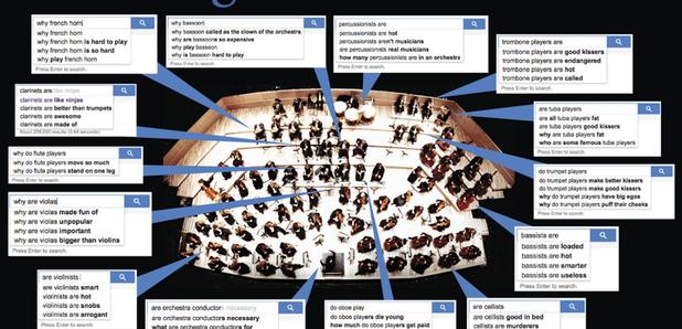 Orchestral Google searches
