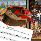 Hieronymus Bosch butt song
