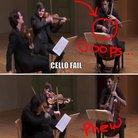Cello bow fail
