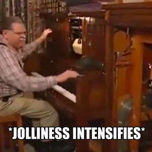joyous organ man