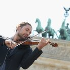 David Garrett plays in Berlin for Obama